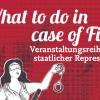Veranstaltungsreihe der Roten Hilfe Berlin