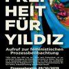 Freiheit für Yildiz- Defend Feminism