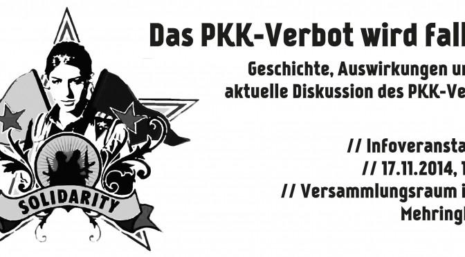 Das PKK-Verbot wird fallen!