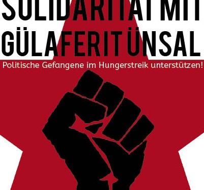 Gülaferit Ünsal ist schon wieder im Hungerstreik