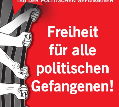 Soliparty zum Tag des politischen Gefangenen 18.3.