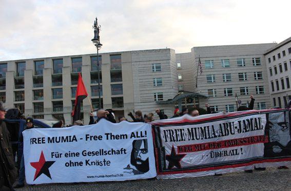 FREE MUMIA – Free Them ALL! Kundgebungsbericht aus Berlin
