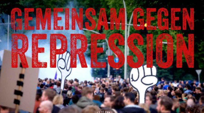 United we stand! Gemeinsam gegen Repression und autoritäre Formierung!