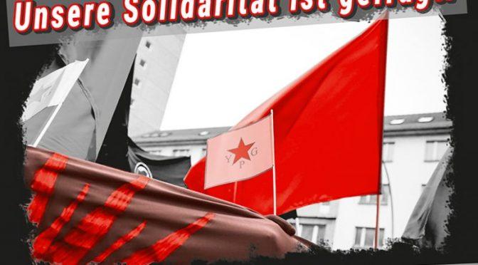 Unsere Solidarität ist gefragt!