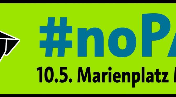 10.05.2018, Großdemonstration: NEIN! zum Polizeiaufgabengesetz Bayern