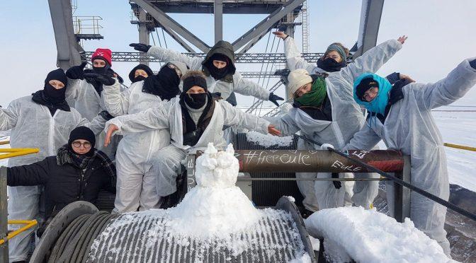 Free Lausitz18! Klimaaktivist*innen nach Baggerbesetzung in U-Haft