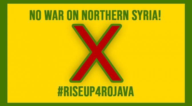 Grußwort zur Demo gegen den Überfall auf Rojava